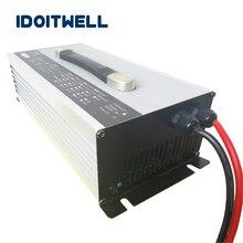 цена на 48V 30A Lead acid battery charger 58.8V float charge 55.2V 30A charger 48 volt lead acid battery charger for 280AH 300AH 350AH