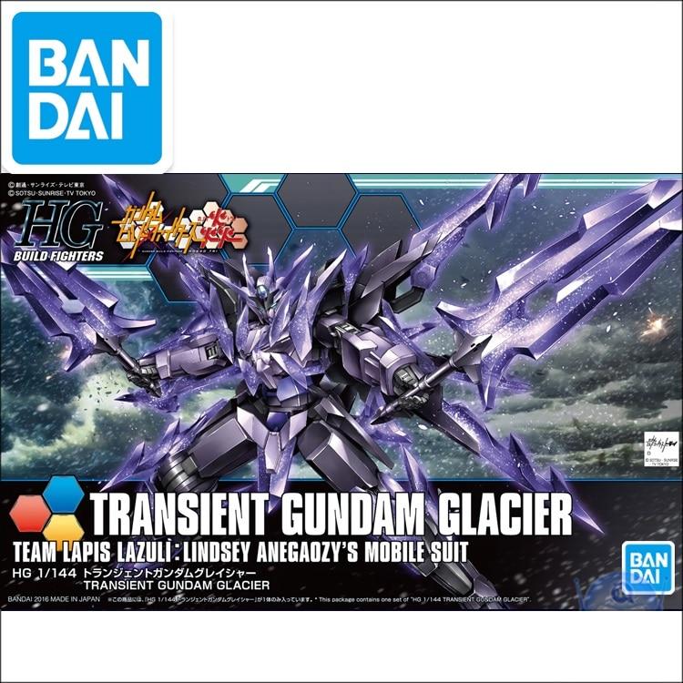 Original Gundam Model HG 1/144  GUNDAM TRANSIENT GUNDAM GLACIER BUILD DIVERS Unchained Mobile Suit Kids Toys