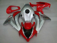 2008 2009 For CBR1000RR 08 11 Fireblade deals 2008 2011 Red and Silver Motorcycle Fairings (Injection molding)