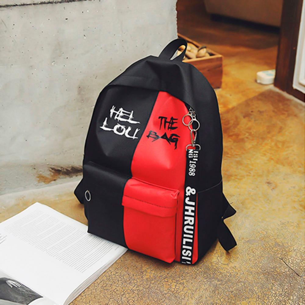 2019 Hot Nylon Women Backpack High Quality Korean Backpacks For Teenage Girls Boys School Shoulder Bag Bagpack Zipper Backbag #4