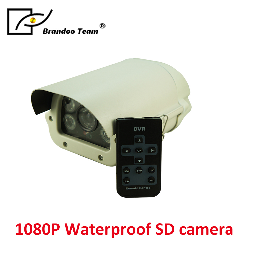 50m Smart IR distance,support 128GB SD Card,waterproof ,outdoor indoor CCTV Security SD camera inter step защитное стекло на заднюю панель inter step для apple iphone 8 plus золотистое