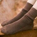 Новые Женщины Носки Хлопок Длинный Мягкий Хлопок Марка Твердые Платье Носки Летние Женщины Шаблон Носки Harajuku Носки Для Дам