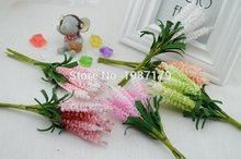 Венки звездная лаванды pe невеста шт./лот) запястье искусственные цветы цветок свадебные