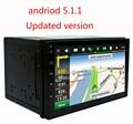 "7 ""2Din 1024*600 Android 5.1.1 Автомобилей Нажмите Tablet PC 2 din Universal для Nissan Gps-навигации BT Радио Стерео Аудио Плеер (Без DVD)"