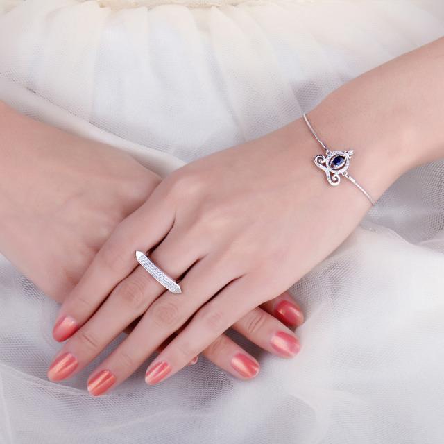 Carriage Sapphire Bracelet