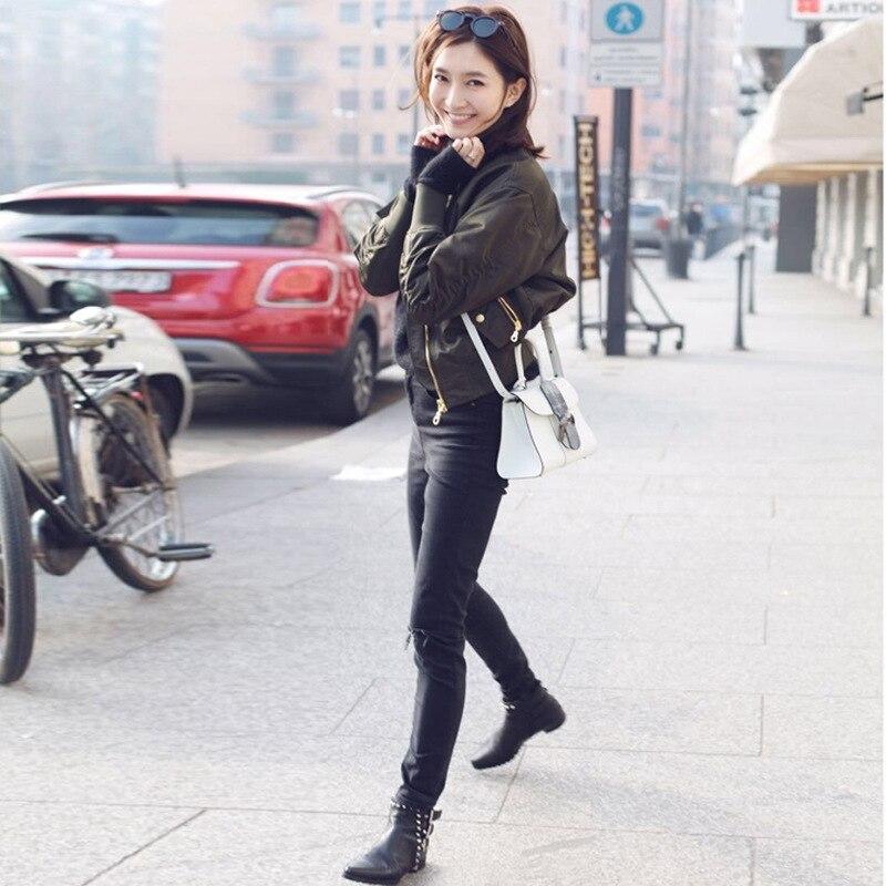 Coréenne Manteaux 1 La Veste Courte Et Plus Taille Hiver Solide Femme Vêtements Harajuku Printemps Coupe Femmes vent 2019 3 Nouvelle Couleur zMVSpqU