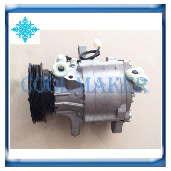 SC06E ac compressor for Daihatsu YRV 1 3 447200 9887 4472009887