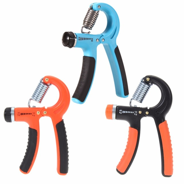 3 Color 10-40 Kg Adjustable Heavy Grips Hand Gripper Fitness Hand Exerciser Grip Wrist Forearm Strength Training Gym Power