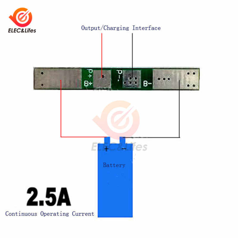 1S 2S 3S 4S Baterai Lithium Charger Perlindungan Papan PCB BMS 18650 Li-ion baterai lithium charger modul 2.5A 3A 20A 30A