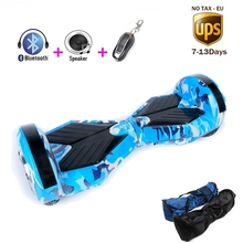 8 Inch Electric scooter Bluetooth Hover Board Two Wheel Self Balancing Scooter Electric Unicycle Hoverboard 8 inch LED Light