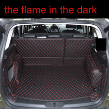 Lsrtw2017 волокно кожа багажник автомобиля коврик для ford kuga 2012 2013 2014 2015 2016 2017 2018 2019 ford escape