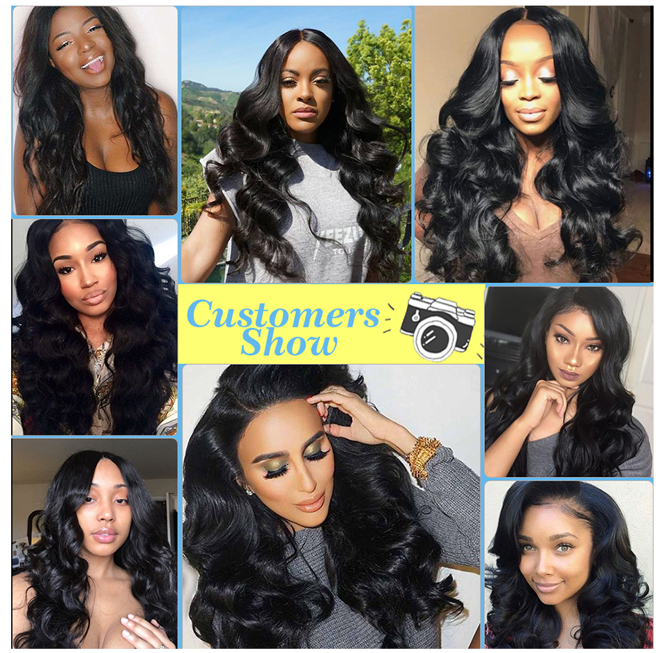 Meetu Indian Body Wave 360 Lace Frontal With Bundles 100% Human Hair Bundles With 360 Closure Non Remy 2 Bundles With Frontal To Win Warm Praise From Customers 3/4 Bundles With Closure