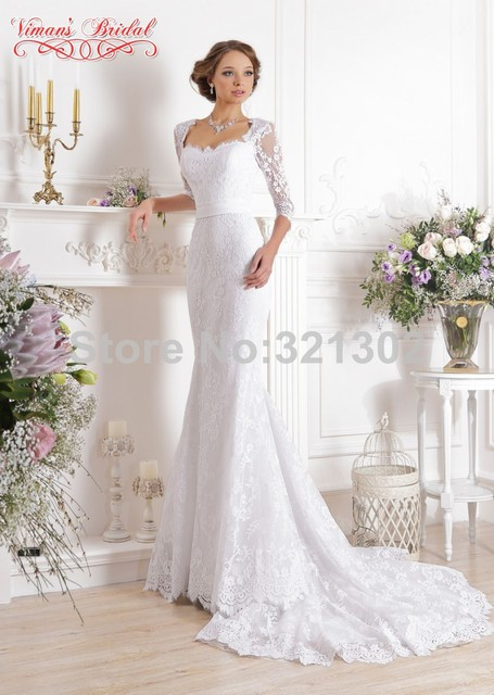 vintage chic lace wedding dresses
