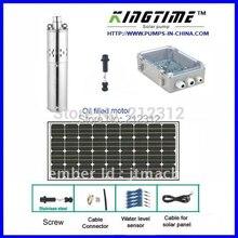 5 года гарантии воды солнечной системы, панели солнечных батарей, погружной насос солнечной, бесплатная доставка, No модели: JS4-3.6-80