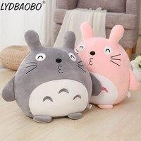 LYDBAOBO 1PC 60CM Big Size Cartoon Totoro Toy Lovely Animals Totoro Plush Doll Kawaii Soft Pillow Children Birthday Toy Kid Gift