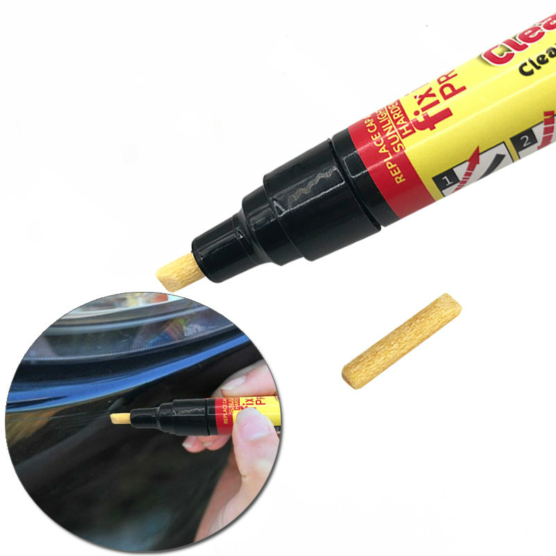 1PC/ 2PCS Car-styling New Portable Fix It Pro Clear Car Scratch Repair Remover Pen Simoniz Clear Coat Applicator Auto Paint Pen