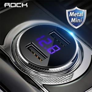 ROCK 5V 3.4A Metal Dual USB Ca
