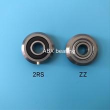 RM2-2RS RM2 W2 W2-2RS RM2ZZ W2ZZ опорный роликовый подшипник 3/8 дюймов отверстие V паз Направляющие подшипники 9,525x30,73x11,1 мм