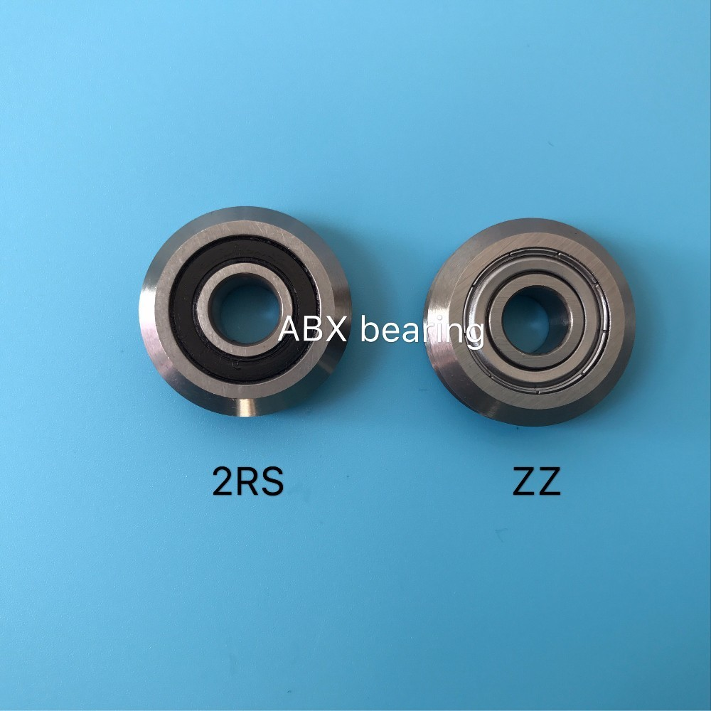 RM2-2RS RM2 W2 W2-2RS RM2ZZ W2ZZ track roller bearing 3/8 inch Bore V Groove Guide Bearings 9.525x30.73x11.1mm sg15 10 2rs for 10 mm 6mm shaft u groove pulley ball bearings 5 17 8 9 75 mm track guide roller bearing sg5rs