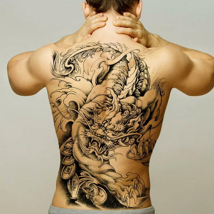 постоянно смотреть фото татуировок на спине для мужчин то, что