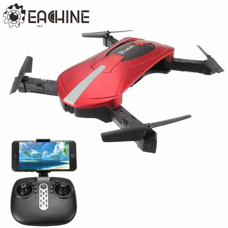 Alta Qualidade Eachine E52 RC 4CH Zangão Selfie Com Braço Dobrável 2.4G Câmera 0.3MP WiFi FPV RC Quadcopter BNF RTF VS JJRC H37
