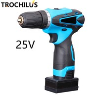 25V Cordless Screwdriver Multifunctional Electric Screwdriver With Lithium Battery Precision Screwdriver Home Mini Power Tool