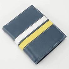 Fashion wallet men luxury brand wallets dollar price genuine leather travel wallet money coin purses holders