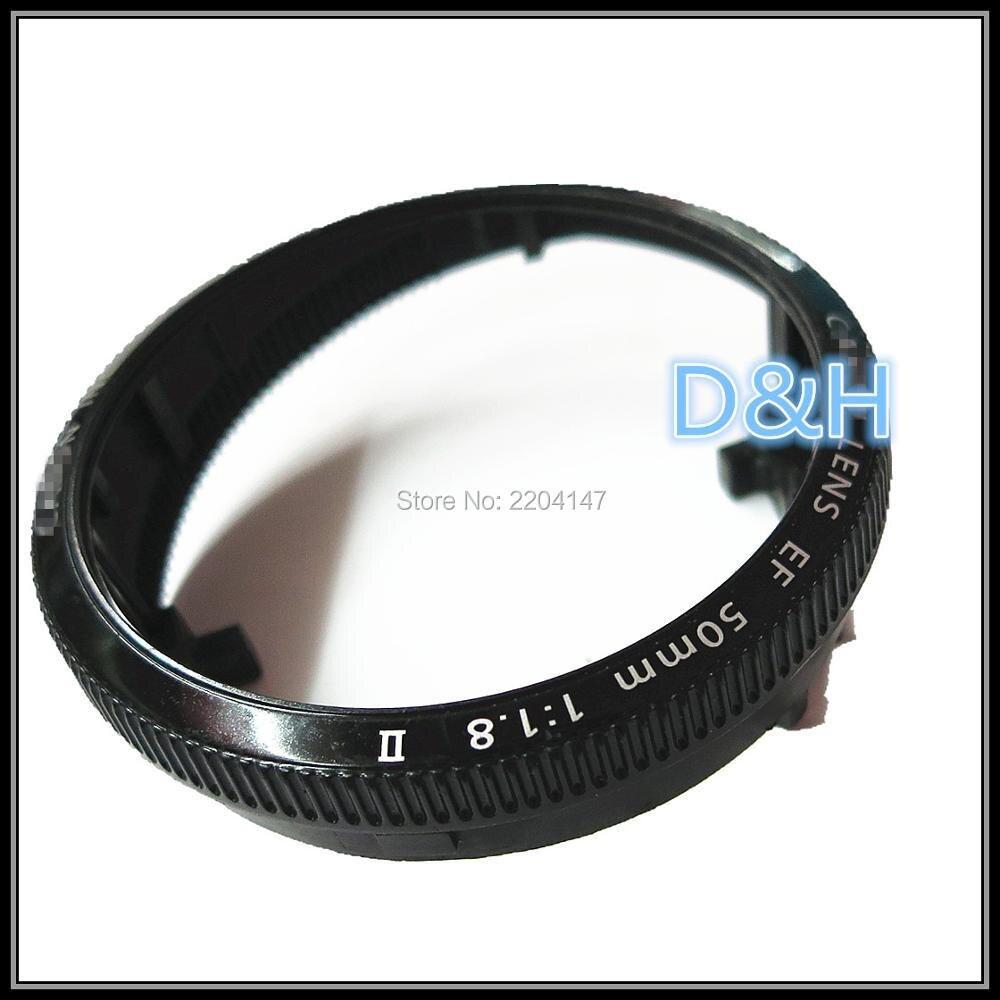 100% original 50mm 1.8 II lente Reparación de piezas de repuesto para Canon EF 50mm f/1.8 II Focus reparación de la cámara del anillo