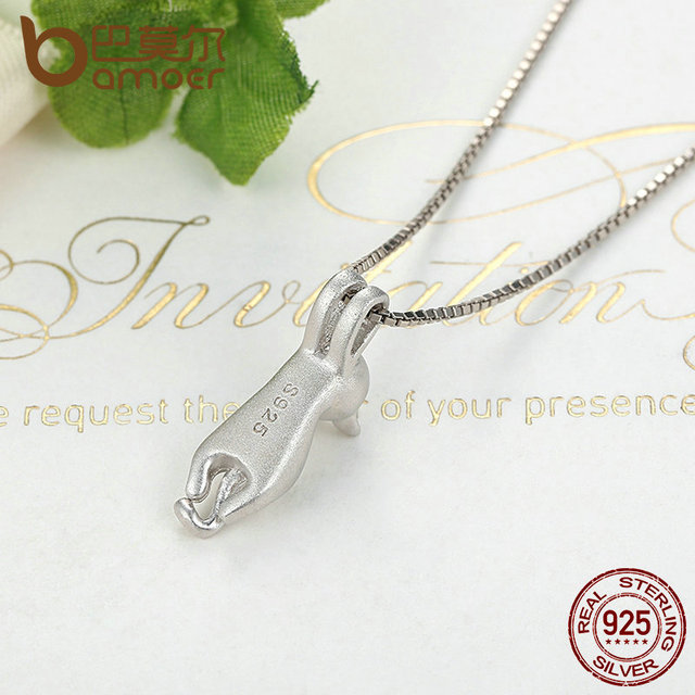 Sterling Silver Lovely Cat Necklace