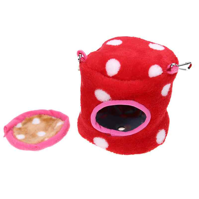 Mini Hanging Bed Toy House Hammock For Ferret Rabbit Rat Hamster Parrot Squirrel Pets Cages