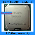 Lifetime warranty Core 2 Duo E4700 2.6GHz 2M 800 Dual Core desktop processors CPU 4700 Socket LGA 775 pin Computer