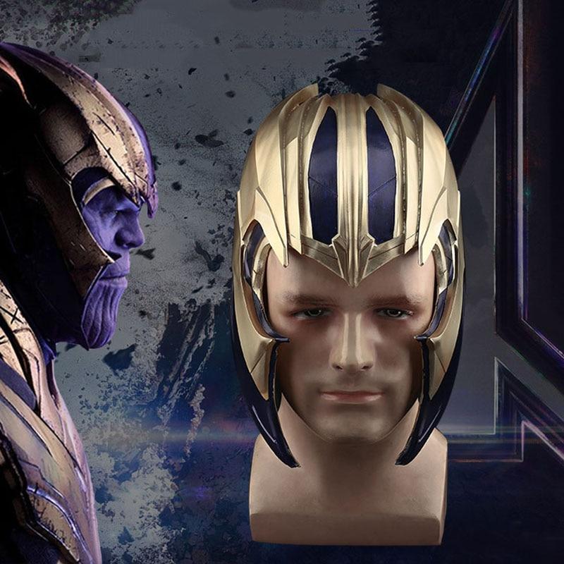 2019 film chaud Avengers 4 Endgame Thanos Cosplay casque adultes unisexe pleine tête PVC masque super-héros Cosplay masque accessoires