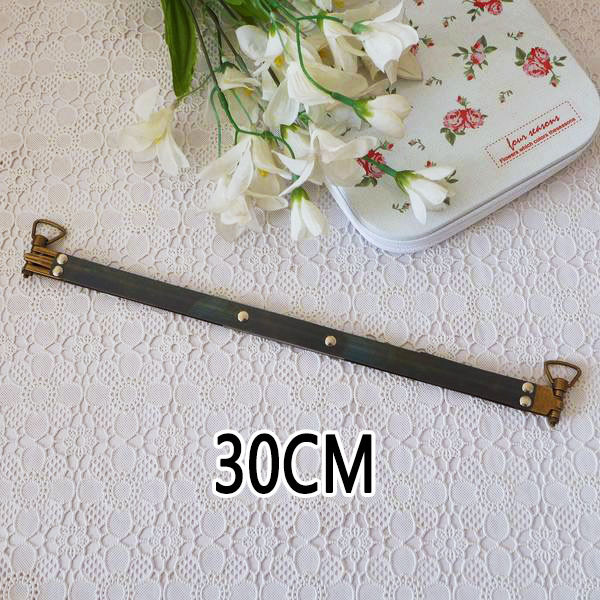 KISSDIY 20 pieces lot 30cm 11 8 Metal Internal Flex Frame with Loops Purse Frame Accessories
