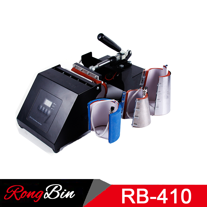 4 in 1 Mug Heat Press Machine Sublimation Heat Press Heat Transfer Machine For Mug Cup 6/11/12/17OZ Mug Press Machine new design single display 7 in 1 heat press machine mug cap plate tshirt heat press sublimation machine heat transfer machine