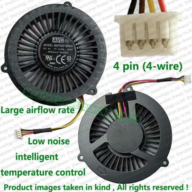100% testado novo ventilador CPU para LENOVO IdeaPad Y400 Y500 Laptop substituição de peças de reparo ventilador cooler