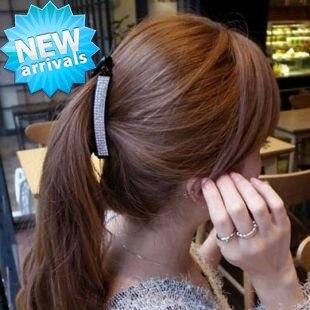 New Hairpin Clip Crystal Banana For Hair Barrettes Korea Style Bandanas Ribbons