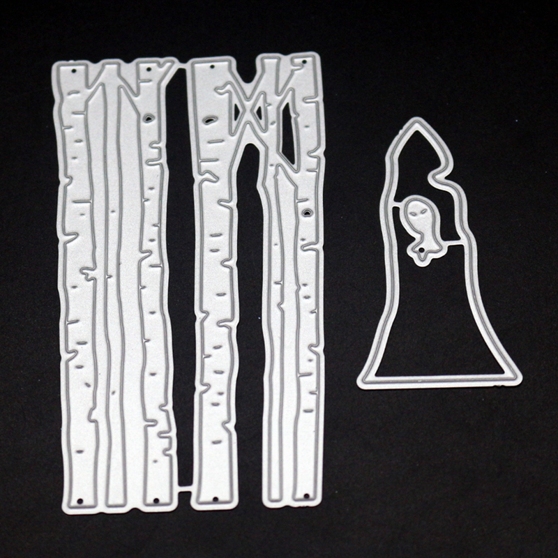 YLCD1532 Halloween Metal Cutting Dies For Scrapbooking Stencils DIY Album Cards Decoration Embossing Folder Craft Die Cuts Tools in Cutting Dies from Home Garden