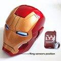 Авто Открытым и Легким Апв Железный Человек Шлем 1:1 Носимых ABS шлем Тони Старк Марк 42 MK42 Cosplay1: 1 Маска со СВЕТОДИОДНОЙ Подсветкой WU529