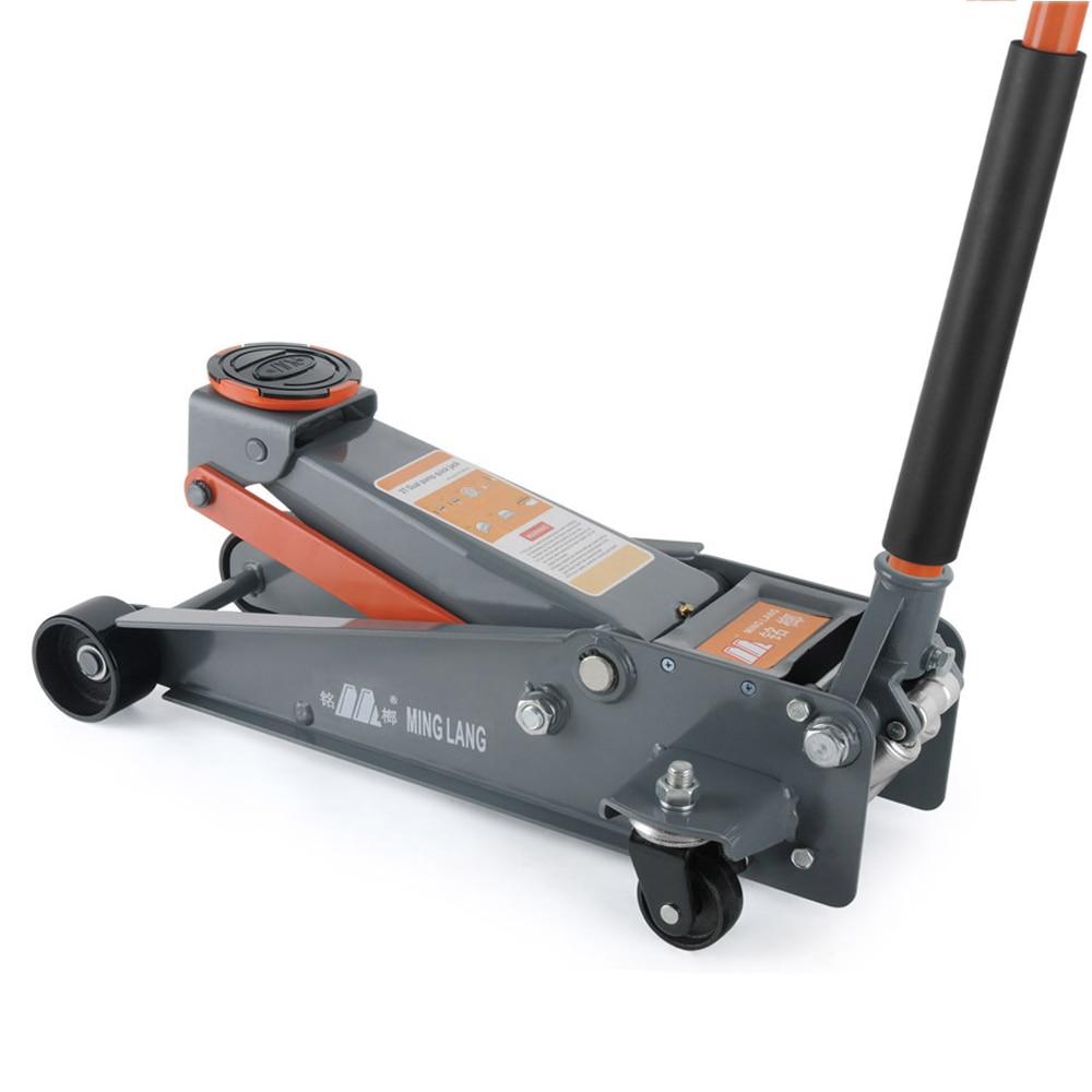 Mr Cartool Hydraulic horizontal jack Car double pump fast rising high position auto maintenance tools