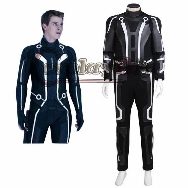 Cosplaydiy Tron Legacy Sam Flynn Cosplay Costume Jumpsuit Adult Men Halloween Carnival Outfit Custom Made  sc 1 st  AliExpress.com & Aliexpress.com : Buy Cosplaydiy Tron: Legacy Sam Flynn Cosplay ...