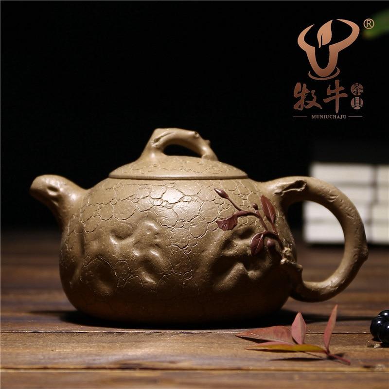 The teapot national senior technician Ni Xinan 330ml can be identified to ensure genuine spring pot