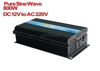 800W Pure Sine Wave DC 12V to AC 220V Power Inverter