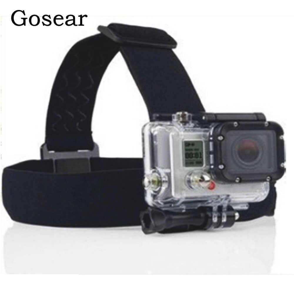 Gosear головной ремень держатель штатива шлем кронштейн для Gopro Go Pro Hero 6 5 4 3 2 Xiaomi Xiomi Yi SJ4000 Eken H8