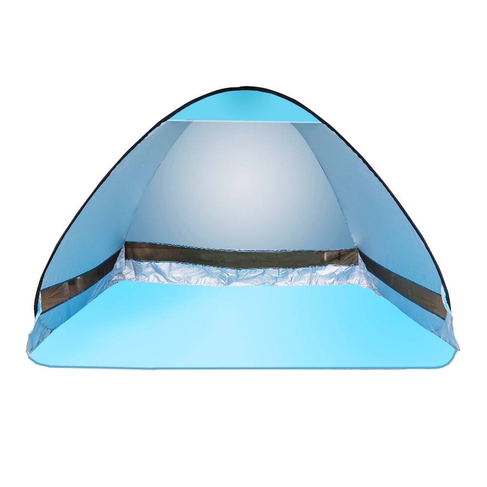 Netanmake 2 Color Automatic Tents Opening beach tent sun ...