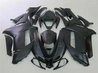 Professional Motorcycle fairings for Kawasaki 07 08 ZX6R fairing kits ZX 6R 2007 2008 Ninja 636 all matte black set BS5