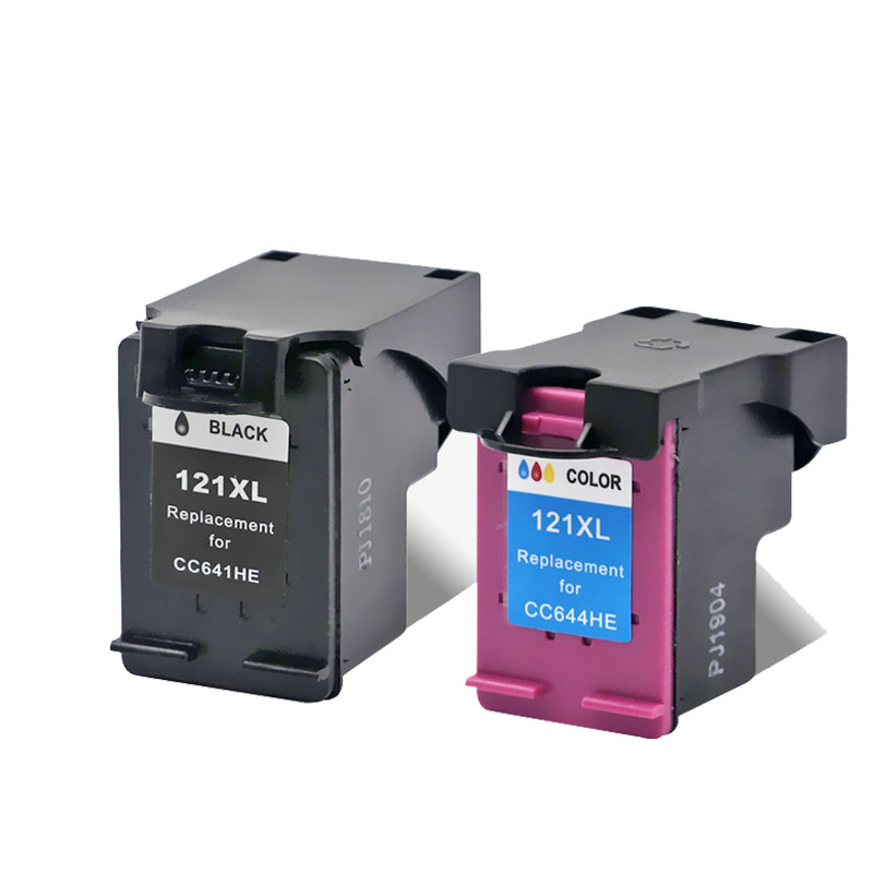 Image 4 - YLC 121XL compatible ink cartridges for HP 121XL hp121 for HP Deskjet F4283 F2423 F2483 F2493 F4213 F4275 F4283 F4583 printer-in Ink Cartridges from Computer & Office