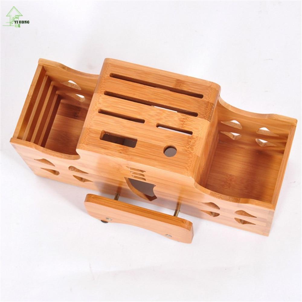 Yi hong multifunzione bambù portacoltelli taglieri da cucina ...
