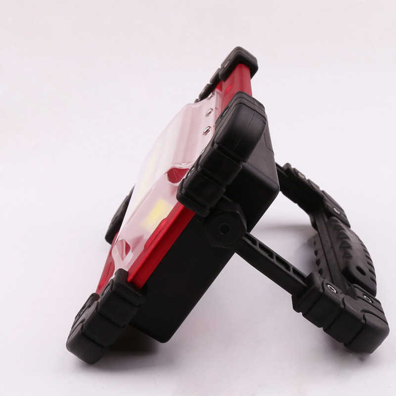 Portable Floodlight Lantern USB Rechargeable COB LED 4-Mode Lawn Lamp Outdoor Led Work Light Portable Spotlight Camping Light