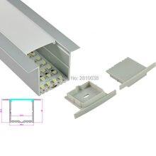 10 компл/лот t Тип анодированный светодиодный алюминиевый профиль