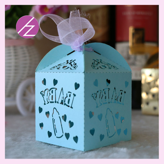 100 teile/los baby shower party beste dekoration junge blau ...